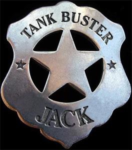 Tank Buster Jack - Logo