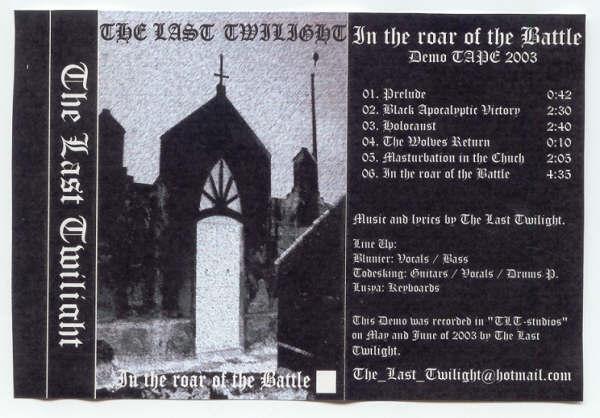 The Last Twilight - In the Roar of the Battle