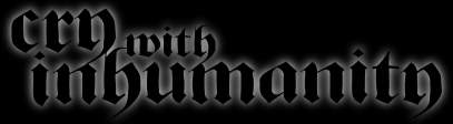 Cry with Inhumanity - Logo