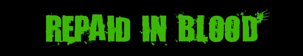 Repaid in Blood - Logo