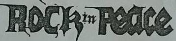 Rock in Peace - Logo