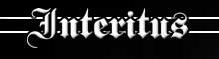 Interitus - Logo