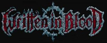 Written in Blood - Logo