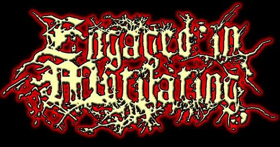 Engaged in Mutilating - Logo
