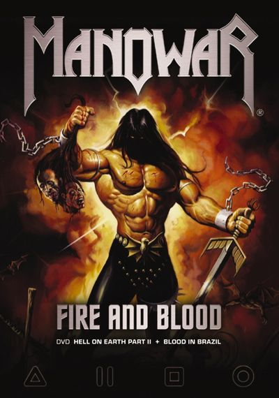 Manowar - Fire and Blood: Hell on Earth Part II + Blood in Brazil