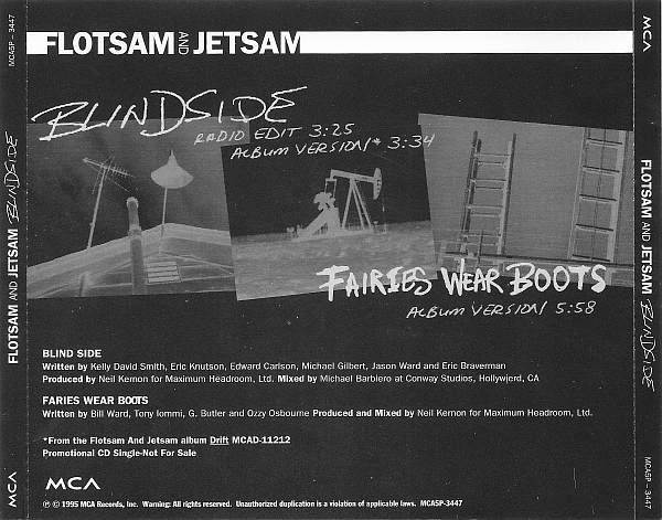 Flotsam and Jetsam - Blindside