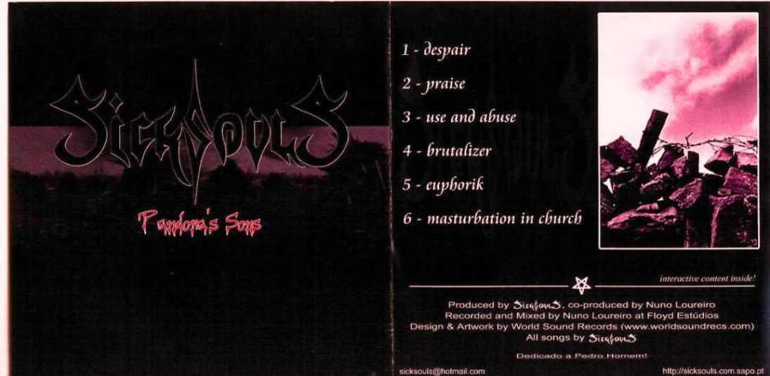 Sicksouls - Pandora's Songs