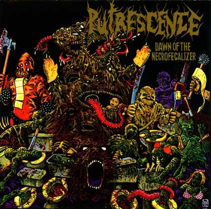 Putrescence - Dawn of the Necrofecalizer