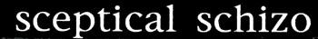 Sceptical Schizo - Logo