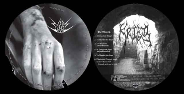 Krieg / Bael - Bleeding for Him / The Church