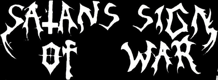 Satans Sign of War - Logo