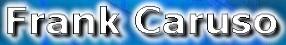 Frank Caruso - Logo
