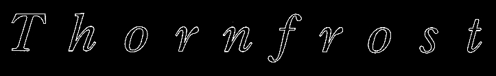 Thornfrost - Logo