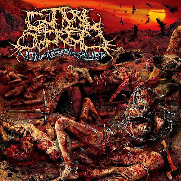 Guttural Secrete - Reek of Pubescent Despoilment