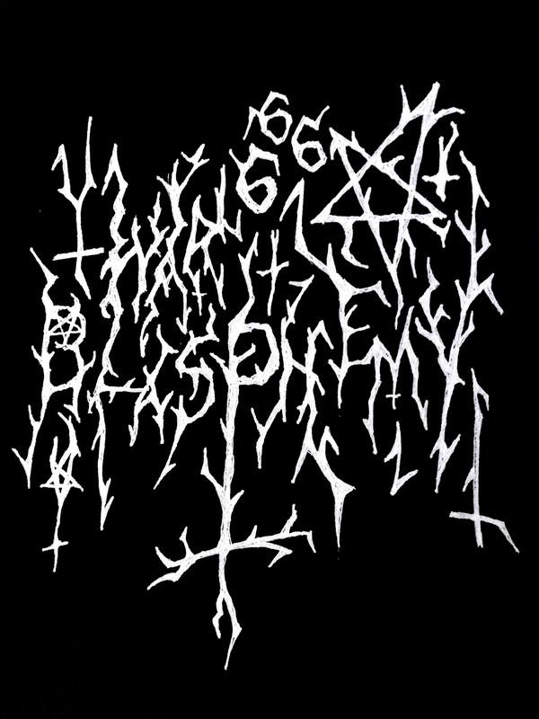 War Blasphemy - Logo