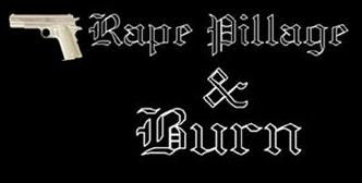 Rape Pillage and Burn - Logo