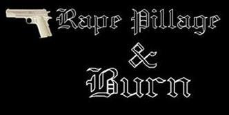 Rape Pillage and Burn - Logo