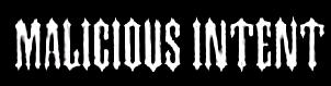 Malicious Intent - Logo