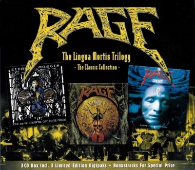 Rage - The Lingua Mortis Trilogy (The Classic Collection)