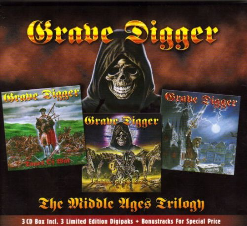 Grave Digger - The Middle Ages Trilogy