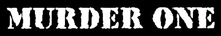Murder One - Logo