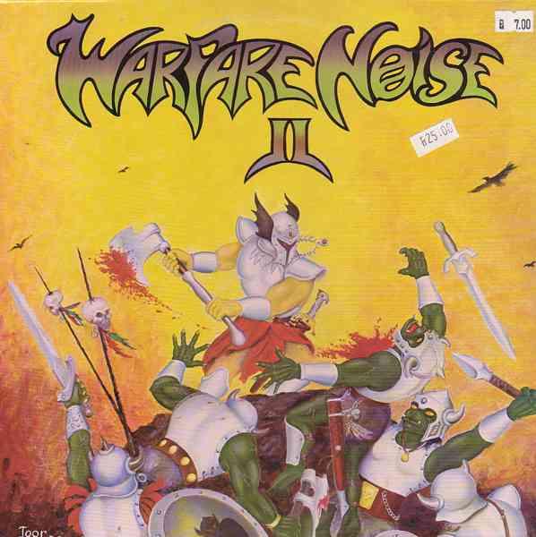 <br />Witchhammer / Megathrash / Aamonhammer / Mayhem - Warfare Noise II