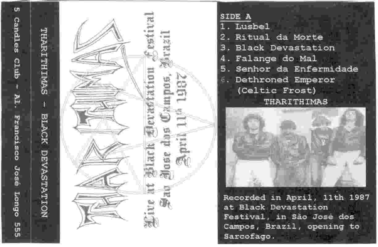 Tharithimas - Live at Black Devastation Festival