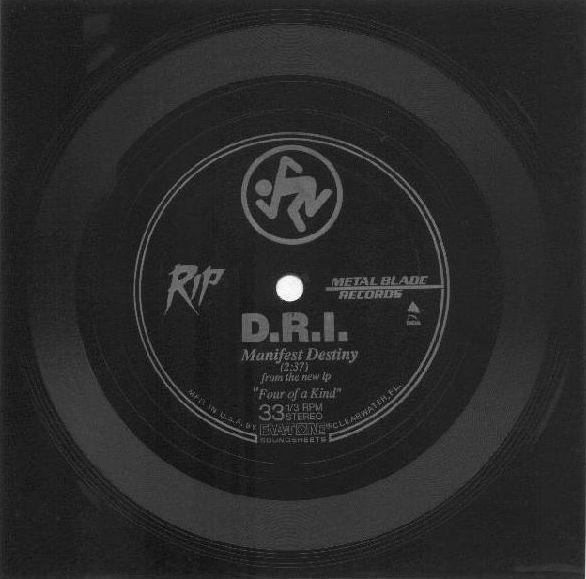 D.R.I. - Manifest Destiny