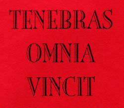 Tenebras Omnia Vincit - Logo