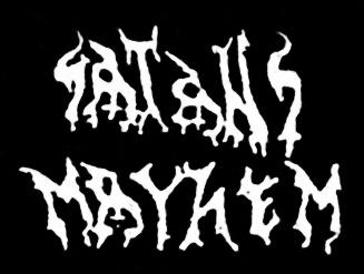 Satans Mayhem - Logo