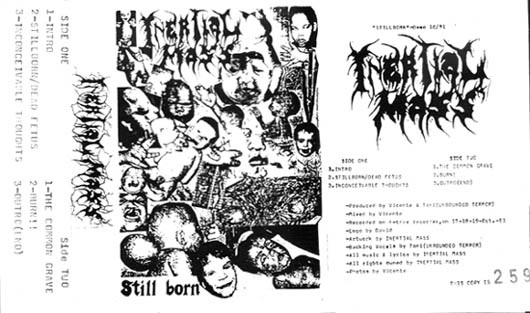 Inertial Mass - Still Born