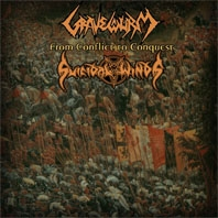 Gravewürm / Suicidal Winds - From Conflict to Conquest