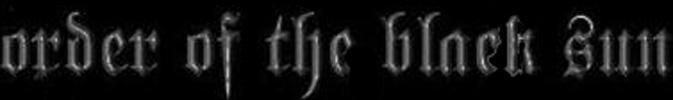 Order of the Black Sun - Logo