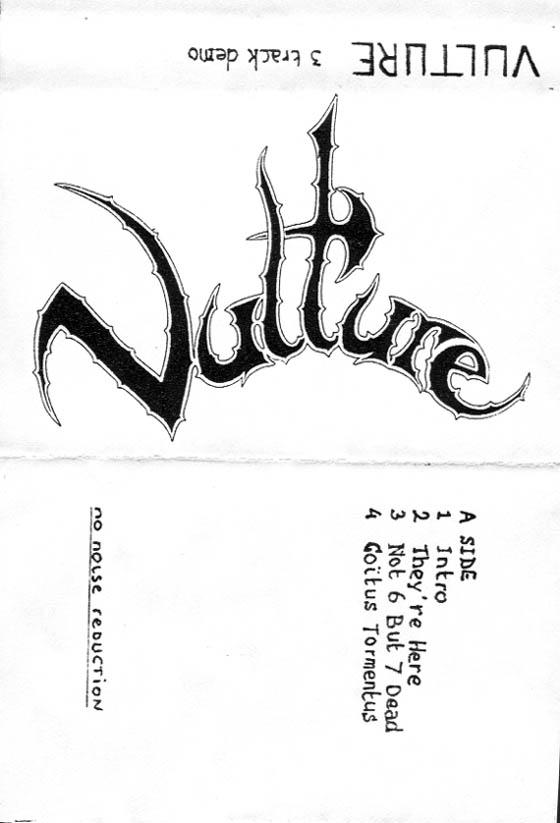 Vulture - 3 Track Demo