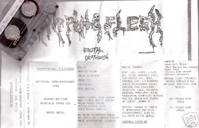 Ripping Flesh - Official Demo-Rehearsal 1990