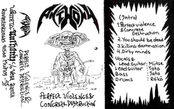 Anthony - Perfect Violence & Concrete Destruction