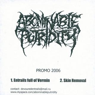 Abominable Putridity - Promo