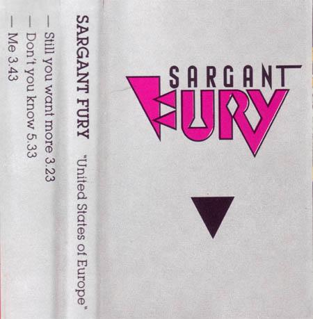 Sargant Fury - United States of Europe