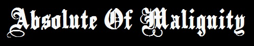 Absolute of Malignity - Logo