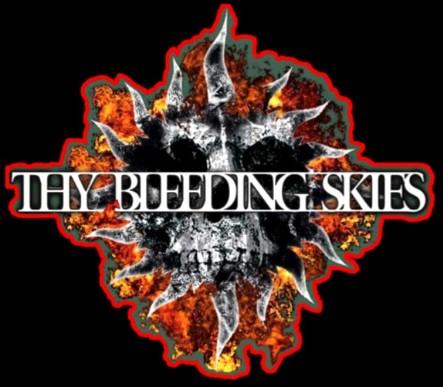 Thy Bleeding Skies - Logo