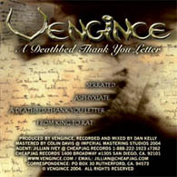 Vengince - A Deathbed Thank-You Letter