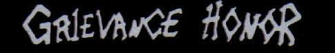 Grievance Honor - Logo