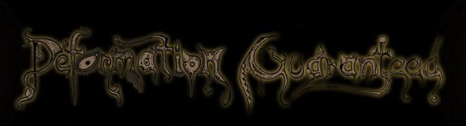 Deformation Guaranteed - Logo