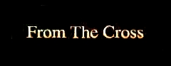From the Cross - Logo