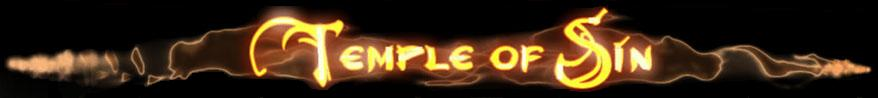Temple of Sin - Logo
