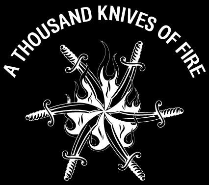 A Thousand Knives of Fire - Logo