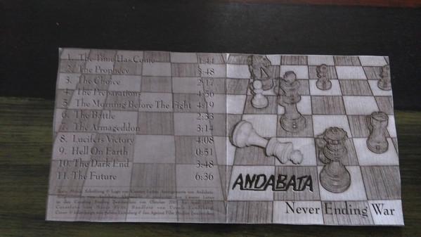 Andabata - Never Ending War