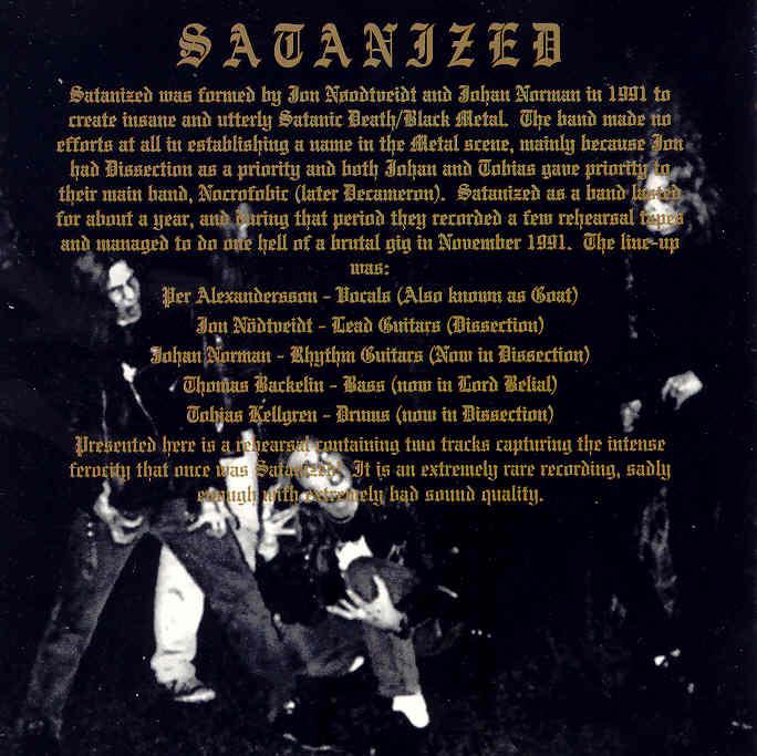 Satanized - Photo