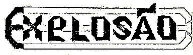 Explosão - Logo