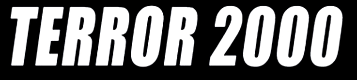 Terror 2000 - Logo
